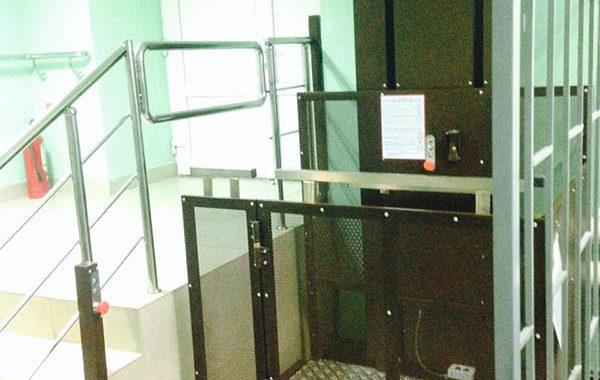Вертикальный подъемник ДС-01